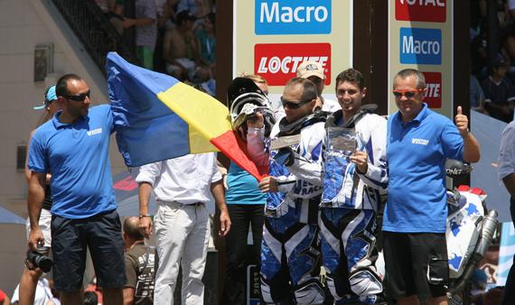 Vectra Racing pe podiumul Dakar 2011